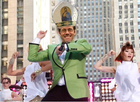 Pope-a Gangnam style