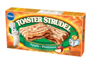 It's Canadian Toaster Strudel! Contains apples and pommes.
