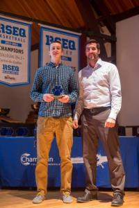 james rookie of the year champlain 2014