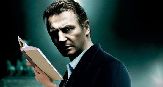 Turns out Neeson has surprisingly delicate hands.