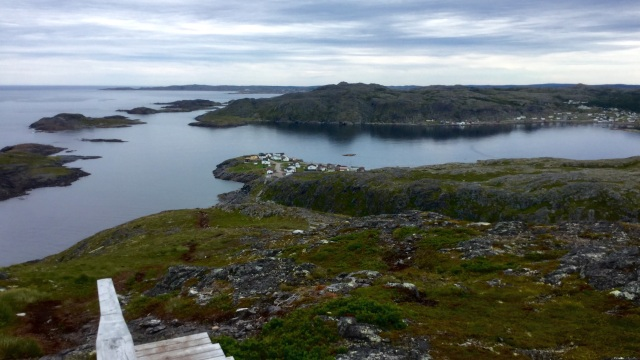 On top of Fogo Head, Fogo Island, Newfoundland.